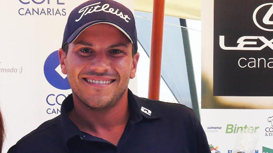 Cristian Espino es el ganador del Torneo Lexus Cope Canarias