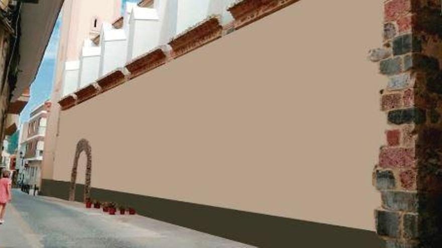 La presión vecinal paraliza la obra de restauración de la Iglesia de Artana