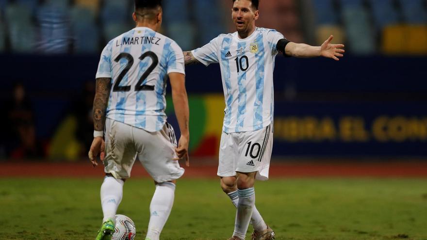 Argentina pasa a semifinales tras golear a Ecuador