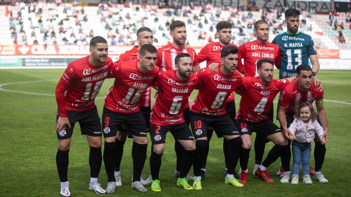 Un once inicial del Zamora CF