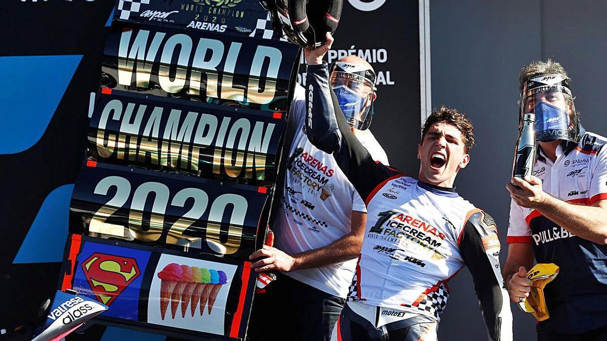 «Aspar» todavía gana mundiales | RAFAEL MARCHANTE