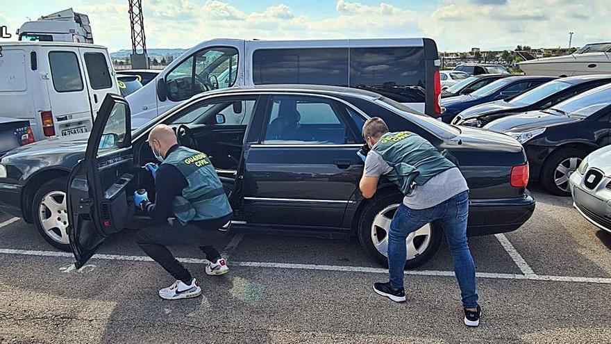 Detenidos por robar en coches en áreas de servicio de Alicante, Valencia y Murcia