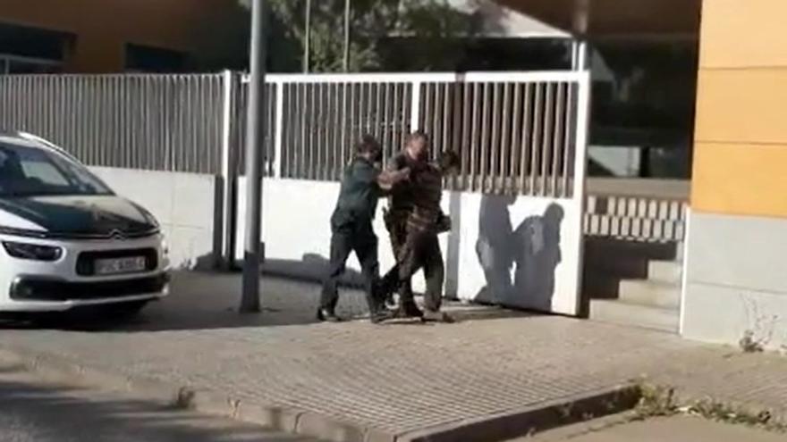 El detenido por el fraticidio en Los Santos pasa a disposición judicial