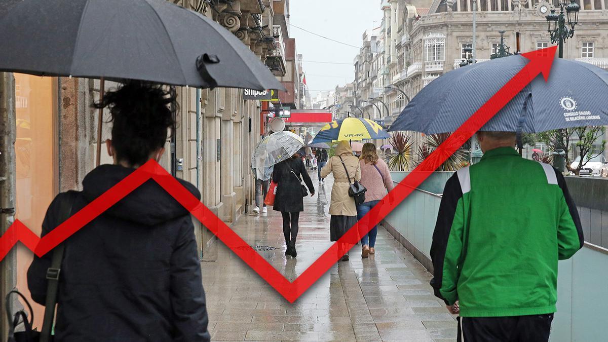 El área de Vigo alcanza el pico máximo de positivos activos desde el inicio de la pandemia