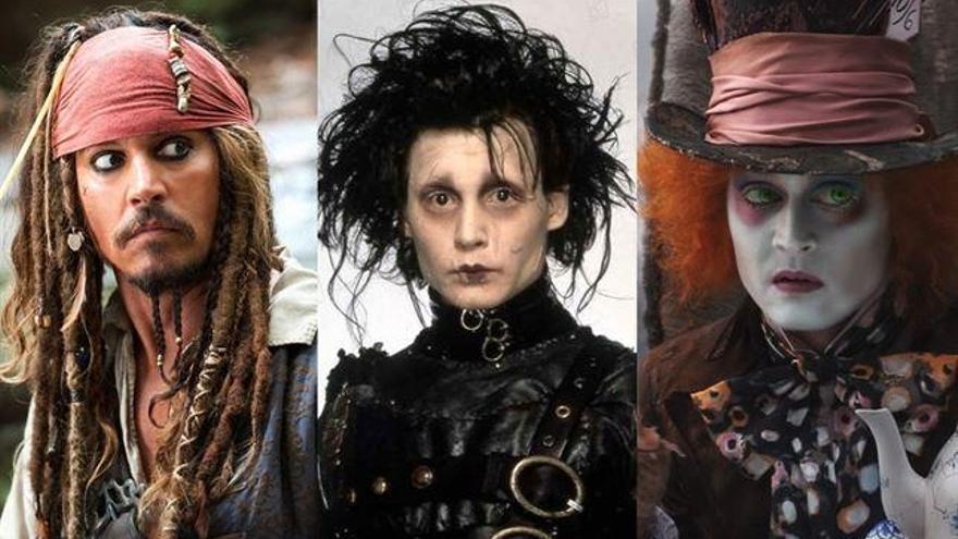 Johnny Depp: Sus 10 personajes más pintorescos
