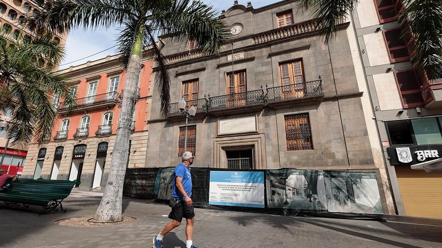 Santa Cruz reanuda las obras que devolverán a la ciudad el histórico Palacio de Carta
