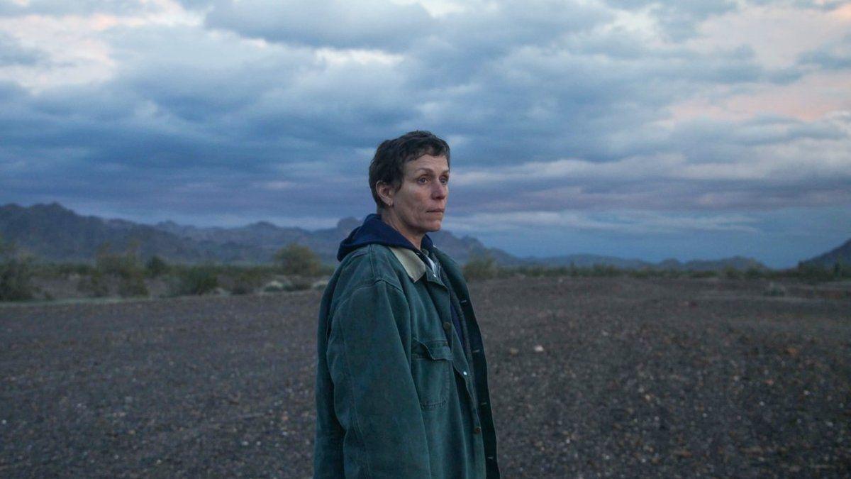Imagen promocional de 'Nomadland'