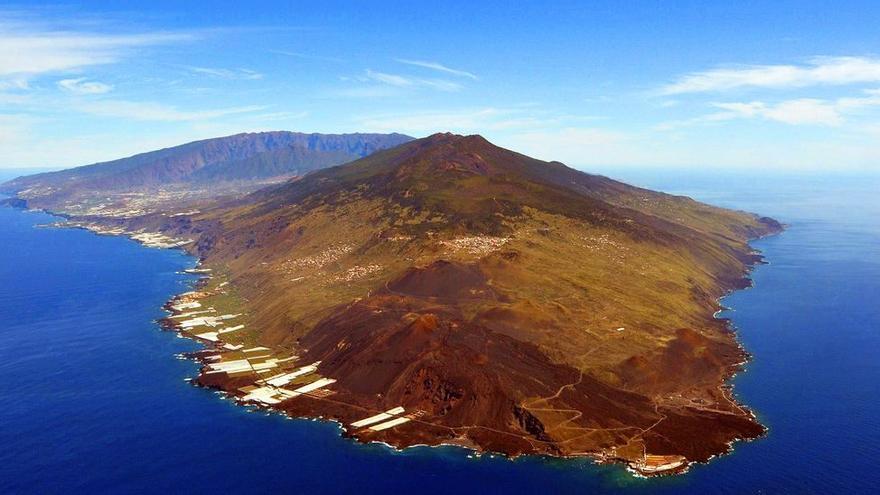 El magma detectado en La Palma es la cuarta parte de lo emitido por el Teneguía
