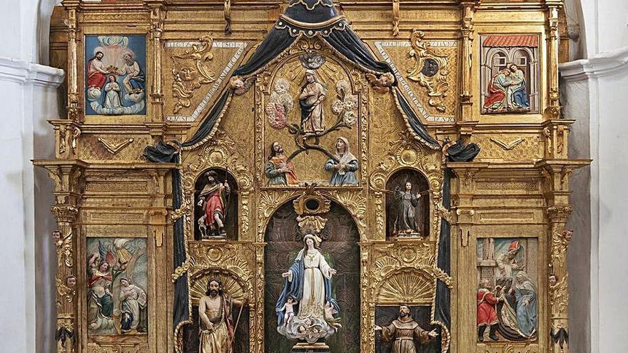 Finaliza la restauración en la iglesia de Santa María del Río en Castroverde de Campos