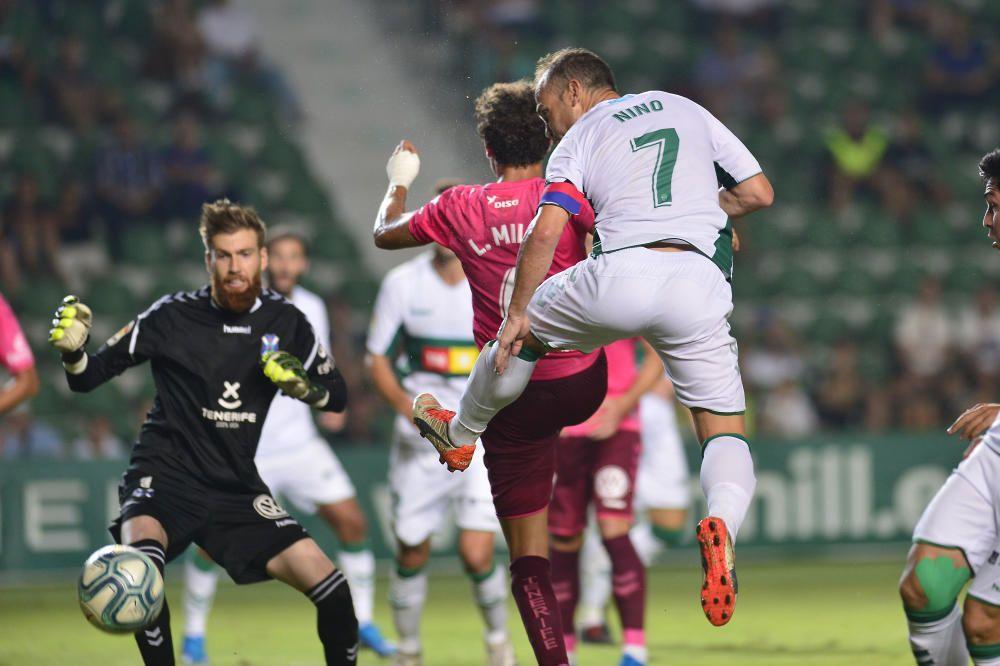El Elche no logra pasar del empate en el Martínez Valero