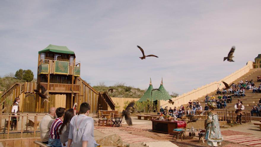 'Cetrería de Reyes' es uno de los cuatro nuevos espectáculos de Puy du Fou en Toledo