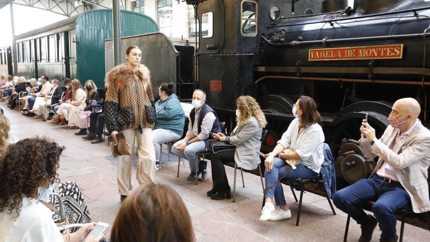 La Pasarela de Moda de Asturias se luce en el Museo del Ferrocarril