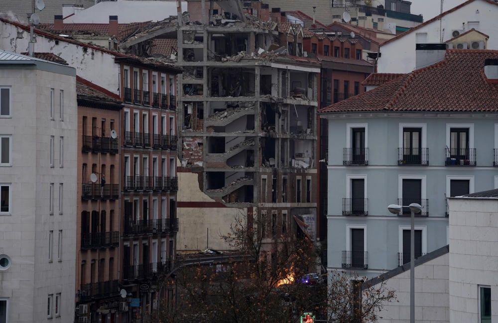 Violenta explosión en Puerta de Toledo.