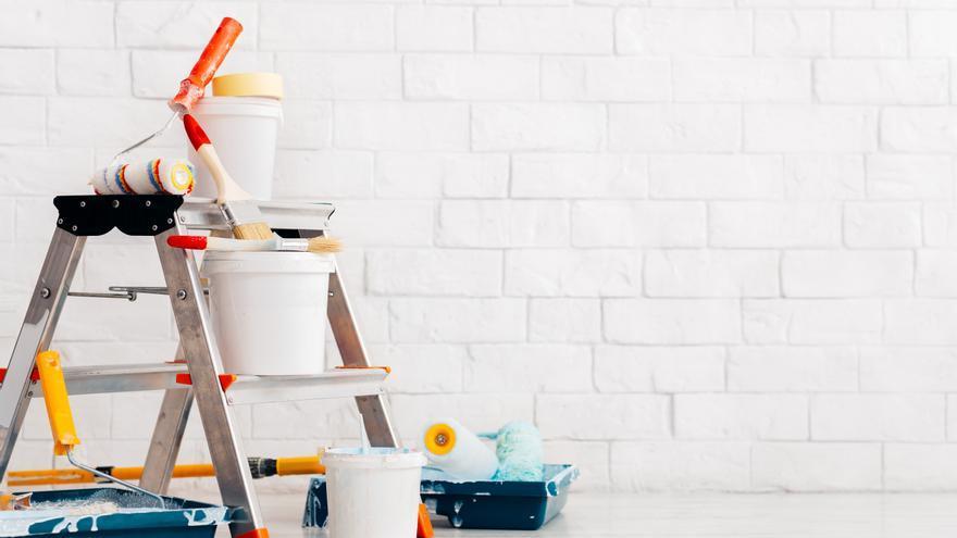La solución definitiva para dejar las paredes blancas sin tener que pintar