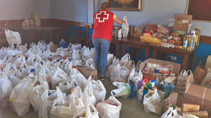 Ayuda para 141 familias con lo donado a Cruz Roja de Picos de Europa