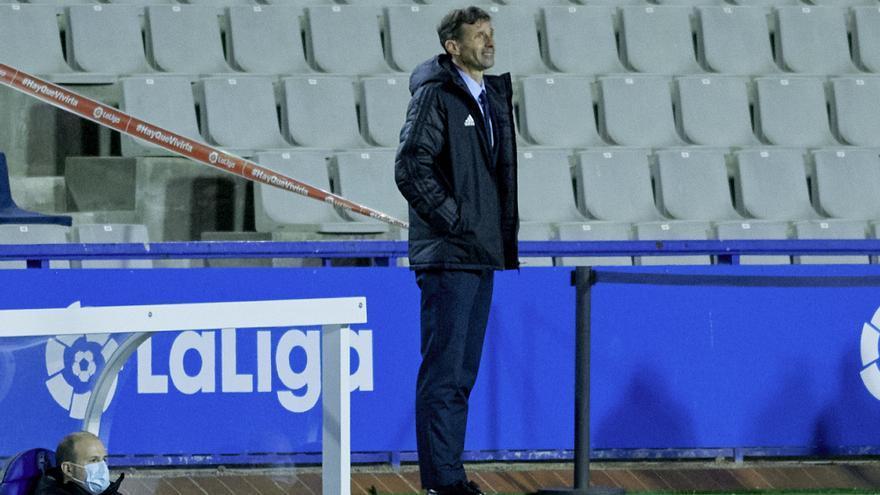 """Ziganda, tras ganar al Sabadell: """"Nos faltó ser más verticales"""""""