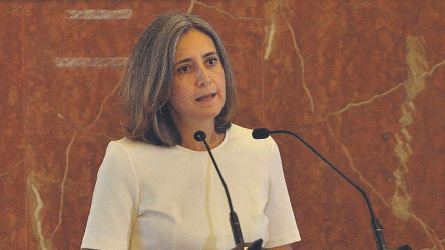 Montserrat Barriga: «Canarias es un sitio ideal para experimentar la aviación sostenible»