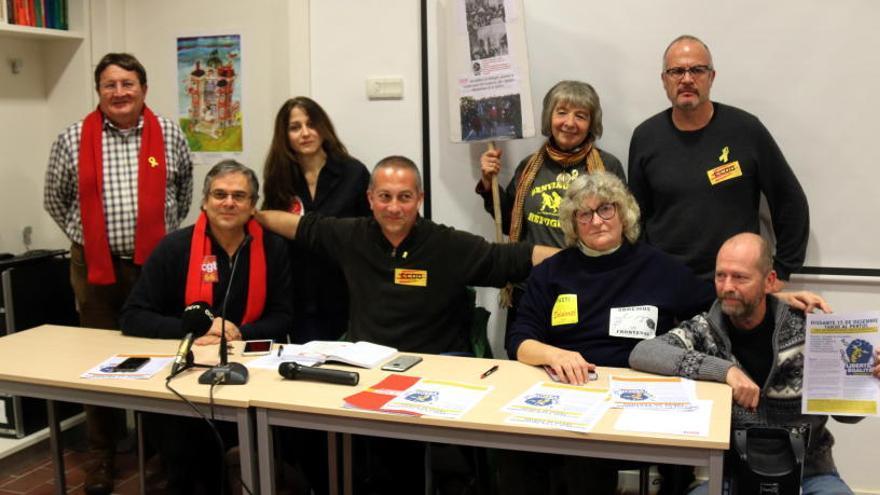 Sindicats francesos i catalans alerten de l'auge de l'extrema dreta i asseguren que «divideix societats cohesionades»