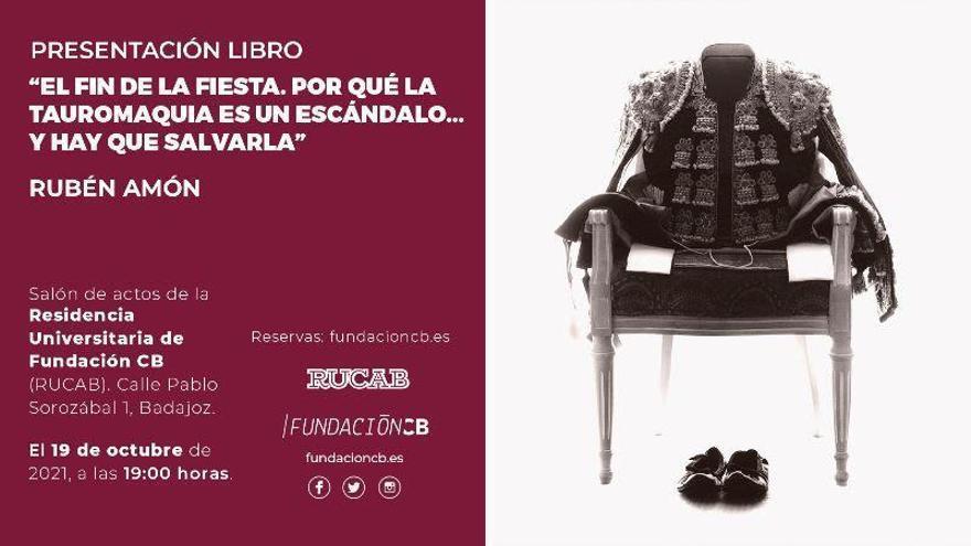 Rubén Amón presenta hoy su libro 'El fin de la fiesta. Por qué la tauromaquia es un escándalo... y hay que salvarla'