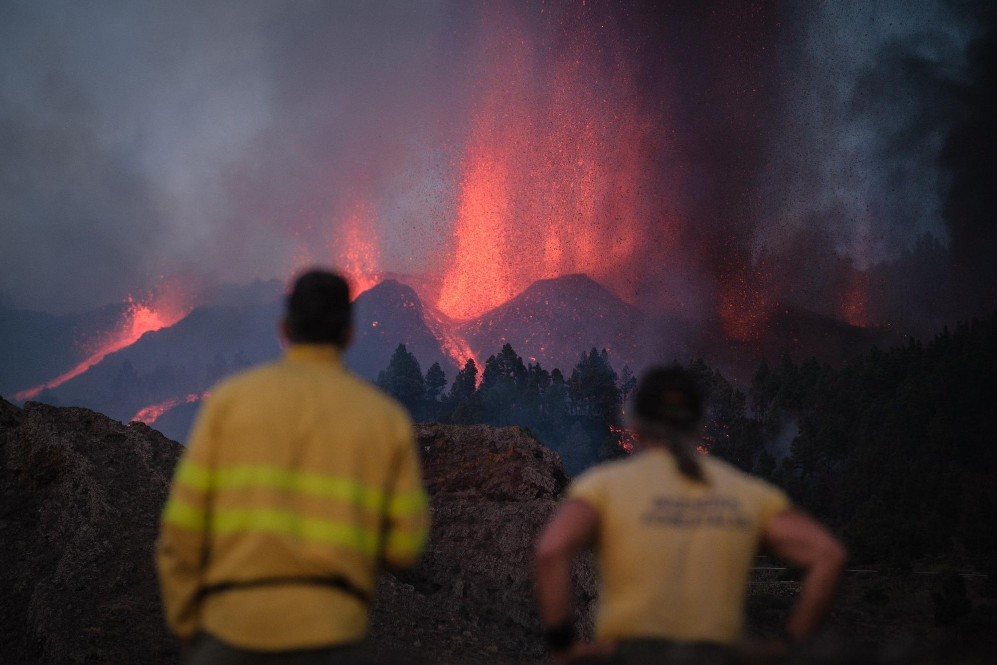 Erupción en La Palma