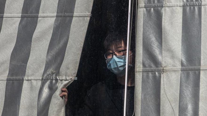 El equipo de la Organización Mundial de la Salud empieza a trabajar de forma presencial en Wuhan