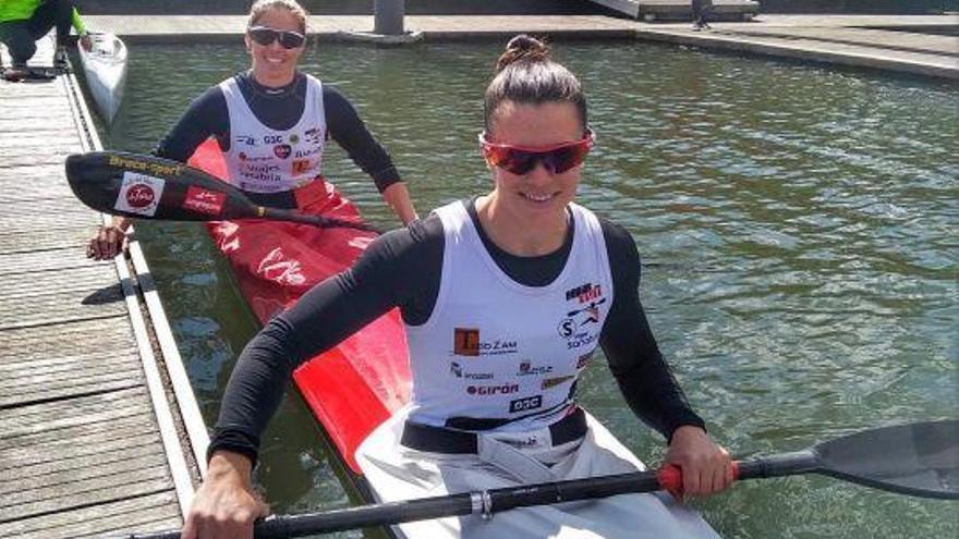 Laura Pedruelo y Eva Barrios, campeonas del K-2 500