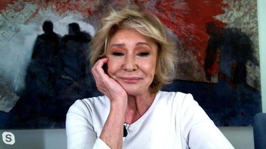 """Mila Ximénez se cuela en 'La última cena': """"Echo de menos vivir sin miedo"""""""