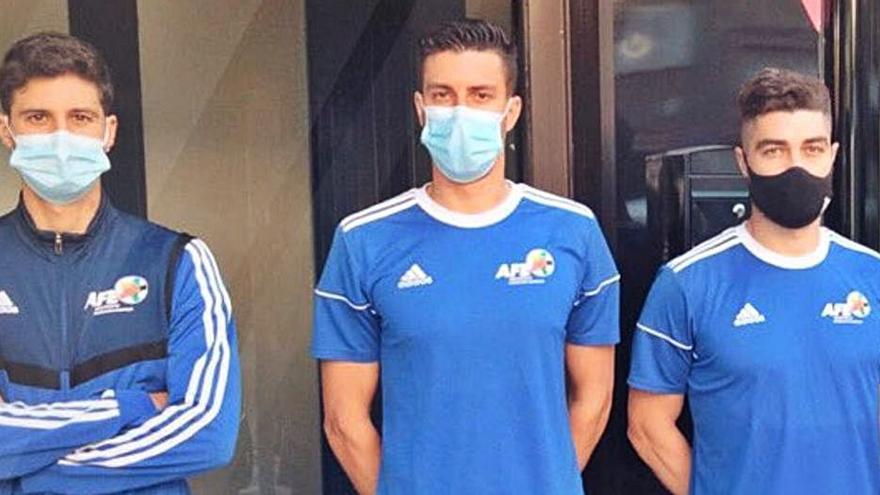 Tres lesionados del Zamora CF se recuperan con la AFE