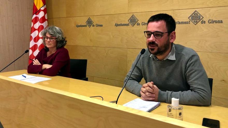 Guanyem Girona critica que JxCat ha fet un compliment «ínfim» dels acords que van pactar al pressupost