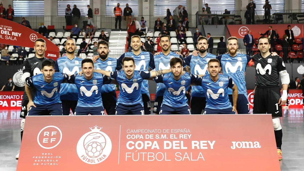 Formación del Movistar Inter