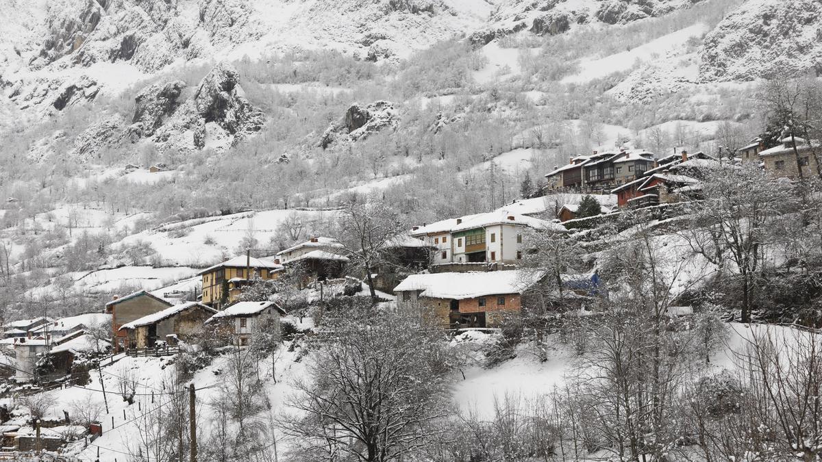 Nieve en Caleao   LUISMA MURIAS