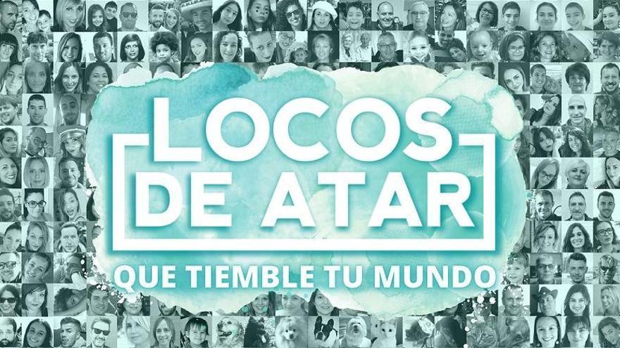 Parte de la portada del disco de Locos de Atar, dedicada a sus seguidores, que han contribuido en la financiación del EP