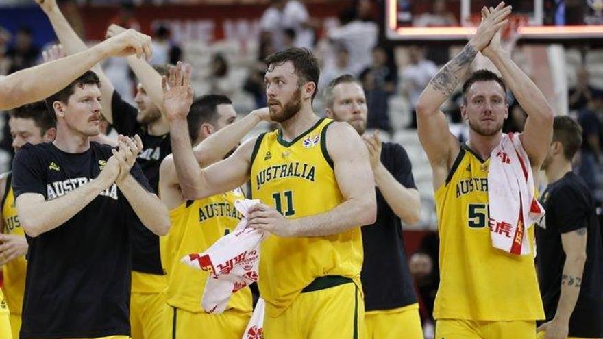 Australia gana a la República Checa y será el rival de España en semifinales (82-70)