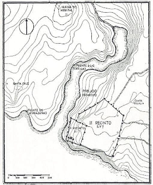 recreación del puerto natural de Palmaria.