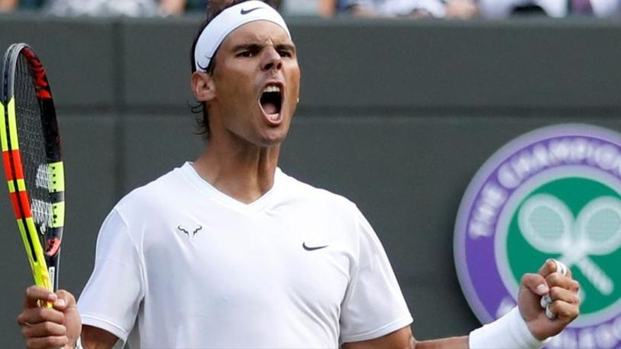 Nadal jugarà les semis de Wimbledon contra Federer
