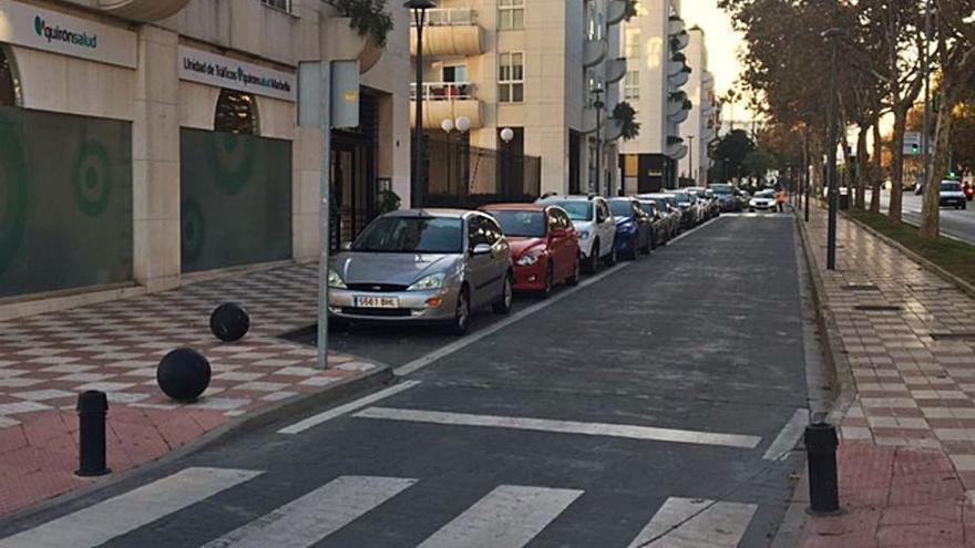 Instalan el estacionamiento de pago en la zona de La Zambomba