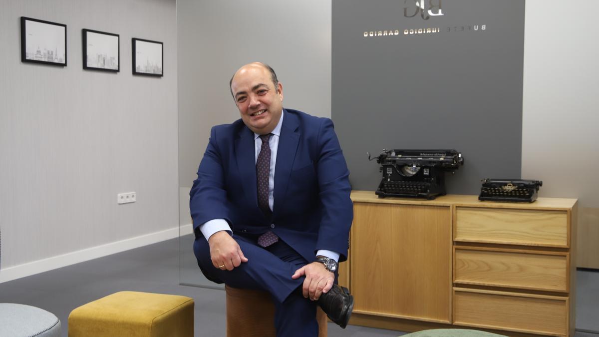 José Luis Garrido, decano del Colegio de Abogados de Córdoba, hace balance de sus diez años de mandato.