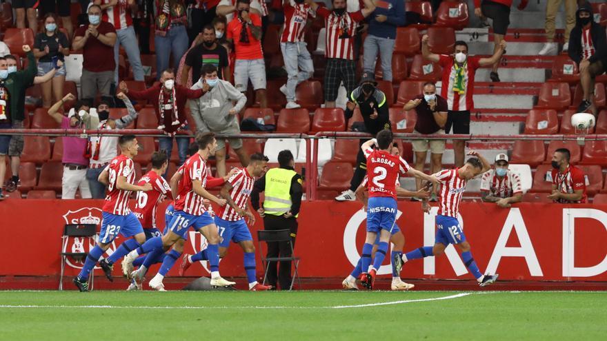 La crónica del Sporting-Leganés: los de Gallego pisan el acelerador