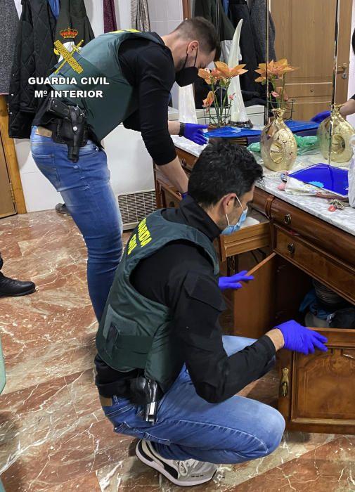 Desarticulado un clan familiar dedicado al narcotráfico en Cieza