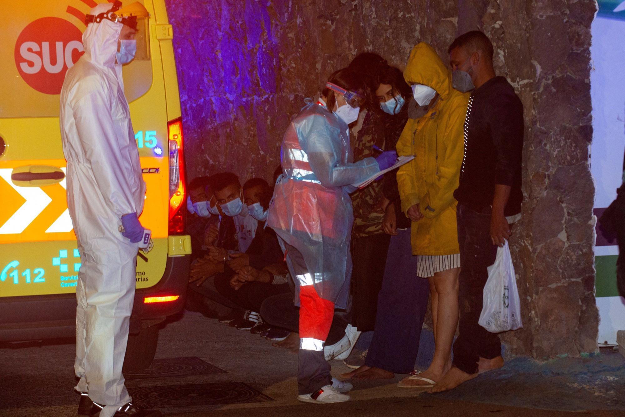 Llegada de migrantes a Canarias (13/07/21)