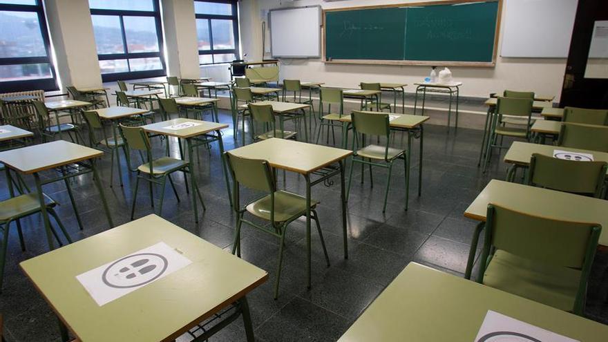 Las clases en cuarentena en Extremadura por casos de covid-19 bajan hasta las 17