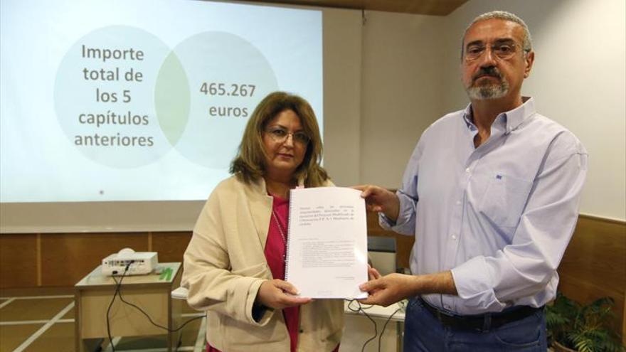 Los vecinos cifran en 736.478 euros las «irregularidades» en Mirabueno