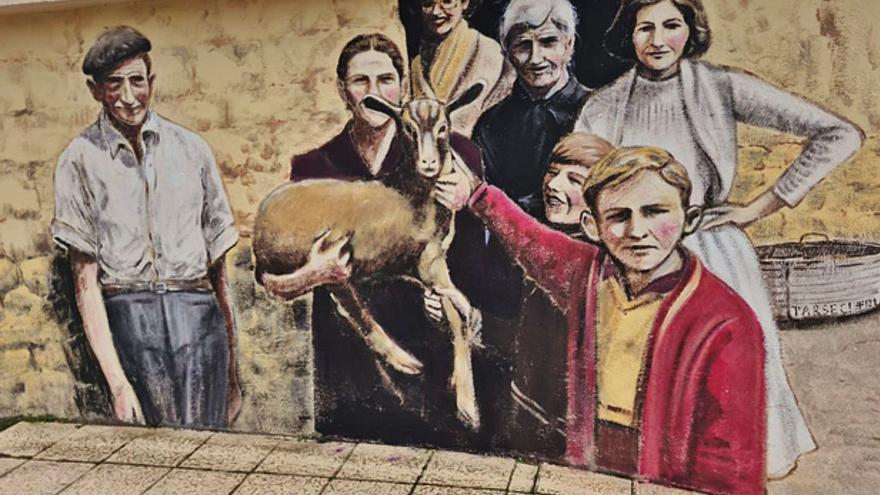 La ruta de los murales llega a Olmillos de Valverde