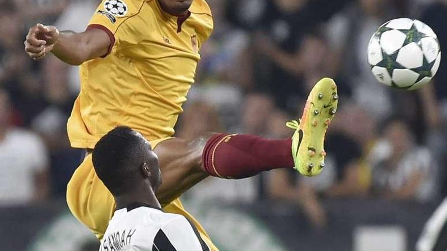 El Sevilla resiste ante el Juventus y logra un sufrido punto en Turín