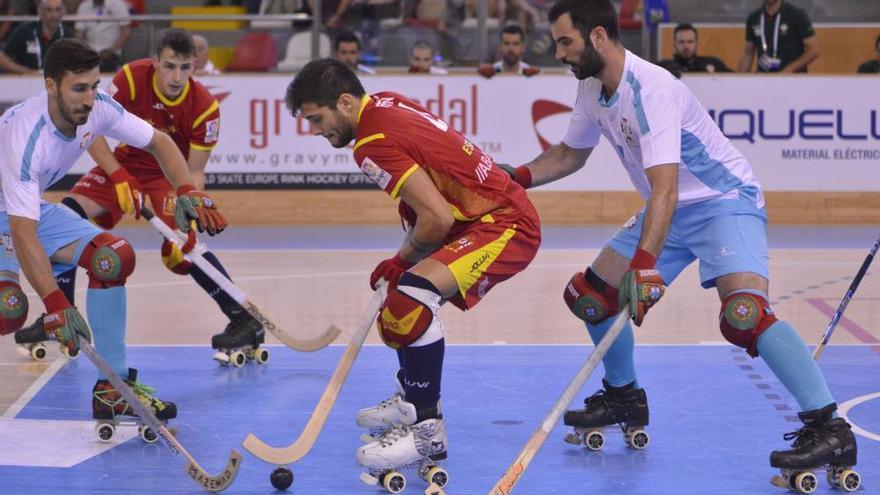 España gana el Europeo de Hockey en A Coruña