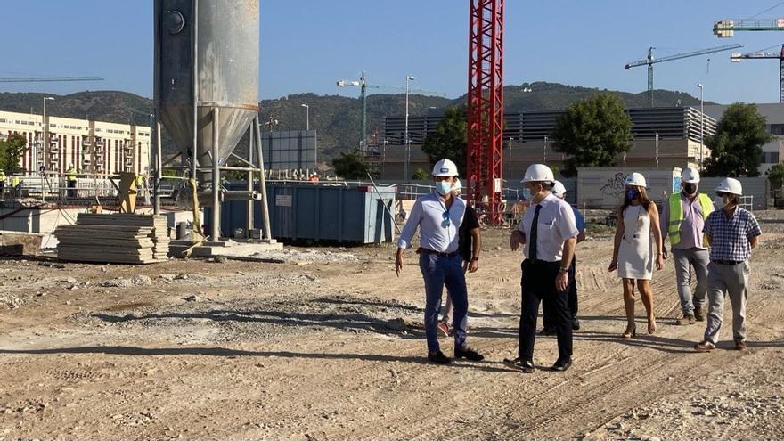Avanzan a buen ritmo las primeras promociones de la empresa municipal Vimcorsa en Huerta de Santa Isabel