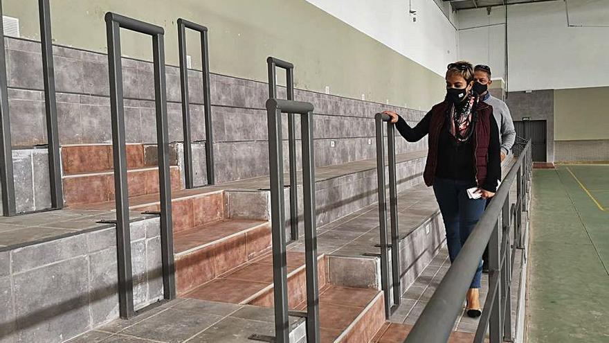 Ingenio termina las obras de mejora de tres recintos deportivos del municipio