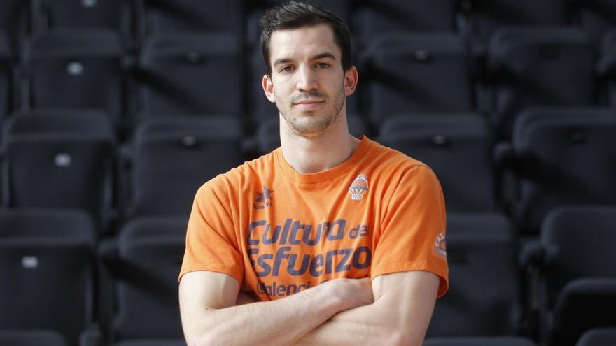 "Pau Ribas: ""El Valencia Basket nos va a plantear dos partidos duros"""
