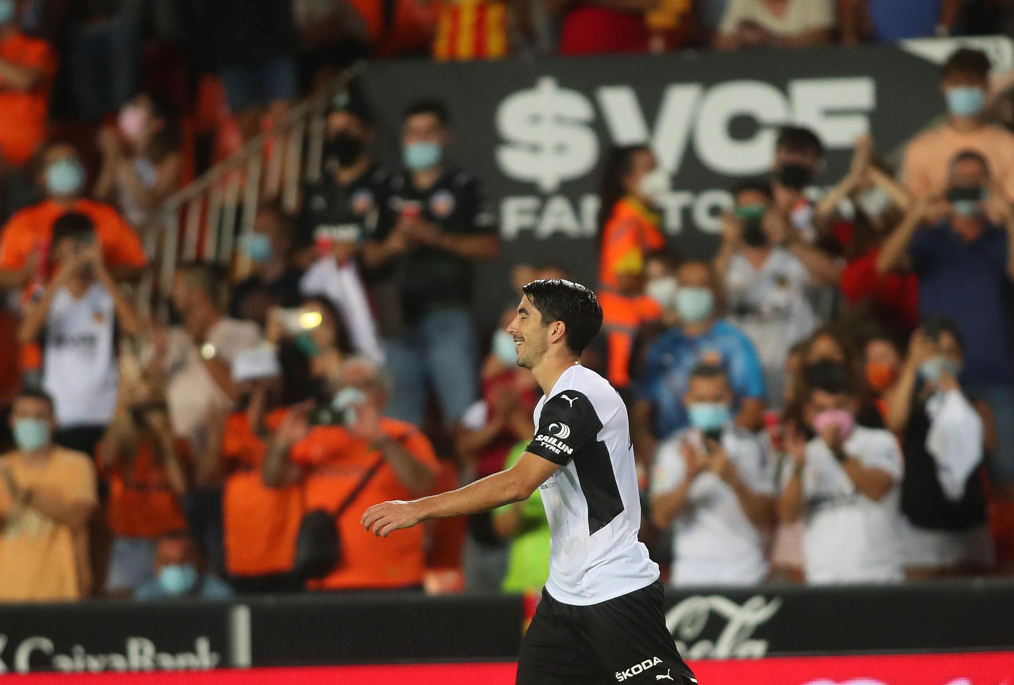 Las mejores fotos del Valencia - Alavés