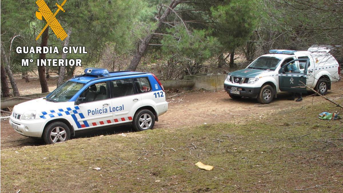 La Guardia Civil y la Policía Local de Toro